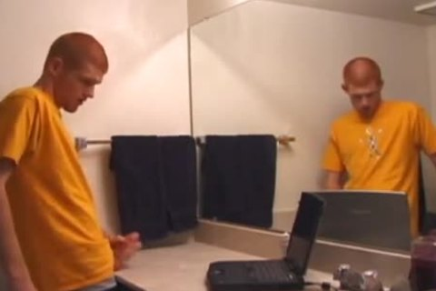 Tristian Jacking Off In bathroom