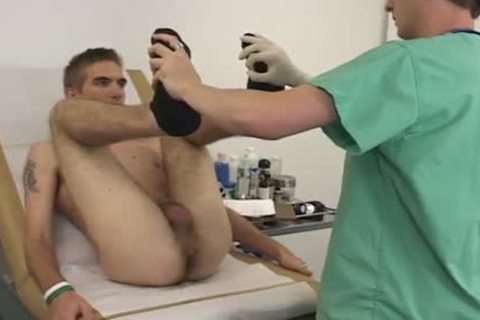 His butthole gets Finger fucked To Check His Prostate
