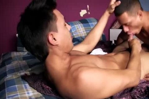 that fellow blows Him And Then Rides Him On The bed