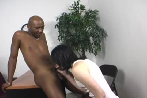 White Emo lad receives pounded By A dark man