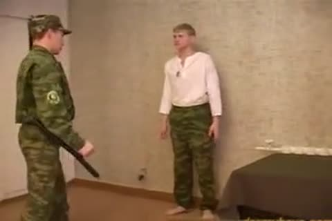 Russian Army thrashing And hammering