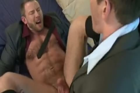 fine Tool Gulping And Bottom Riding Businessmen.