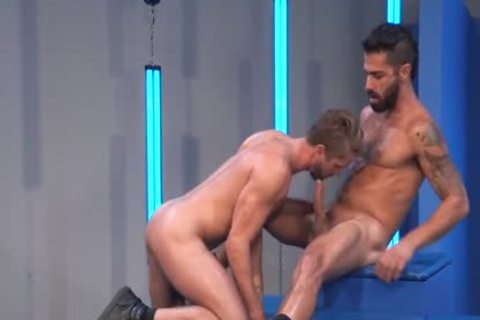 Super dirty Hunks Are Attacking Each Other With Love.