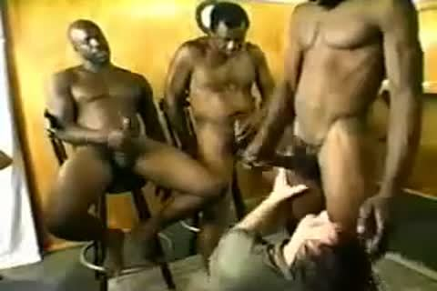 Three Blacks bang A fat