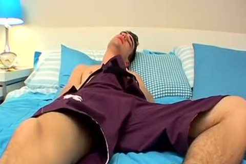 gracious sleazy man Zack Pleasures Himself In A Bedroom