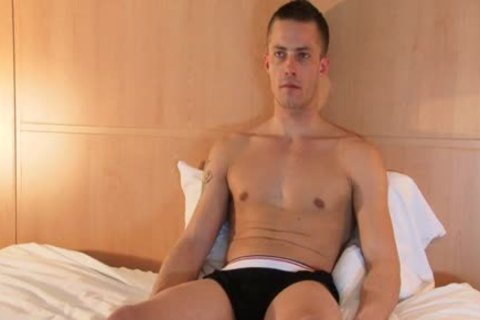 Full video: A blameless straight Neighbour Serviced His large jock By A lad!