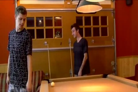 teens Play A Game Of Pool Where Loser acquires nailed In butthole