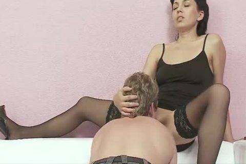 CoupleDomination - Sex serf receives Hard cock And biggest dick
