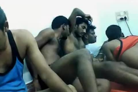 bushy Indian Hunks On cam