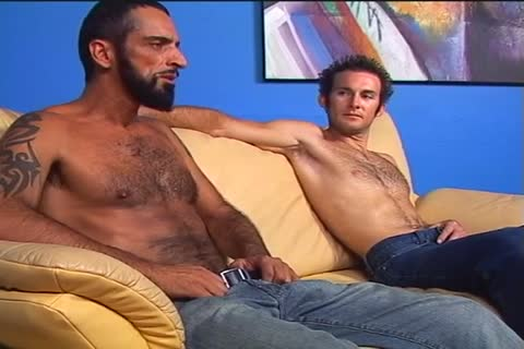 Two hairy guys Randy And Tom Colt fuck Each Other