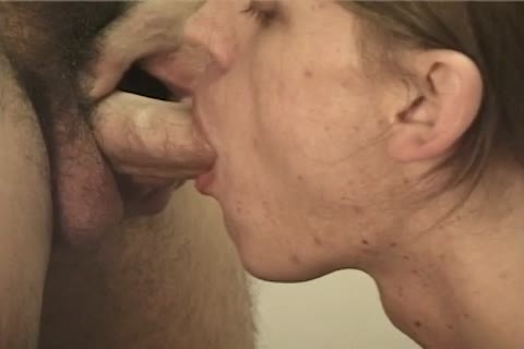 Cumhungry gay stud acquires cum All Over His Face