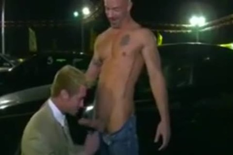 Car Salesman banged On Lot