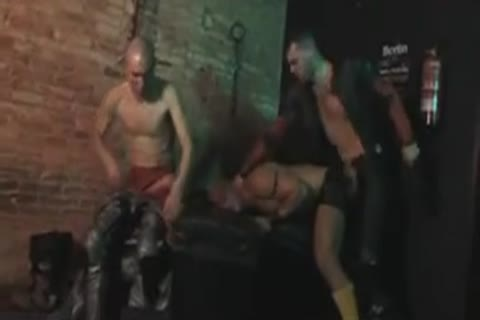 Sex Club nailing orgy