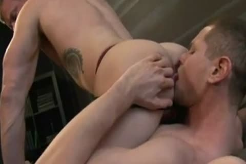 Muscled Hunks exchange Creampies
