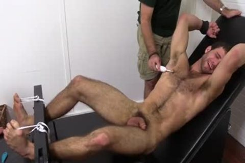 bushy dude receives Fetish pleasure Session