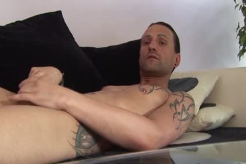 Jeff Paris Spends Some Quality Time Alone stroking His penis