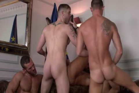Some Very Powerful Hunky Muscle boyz Likes Some brutaly group Keister Fornicating Session