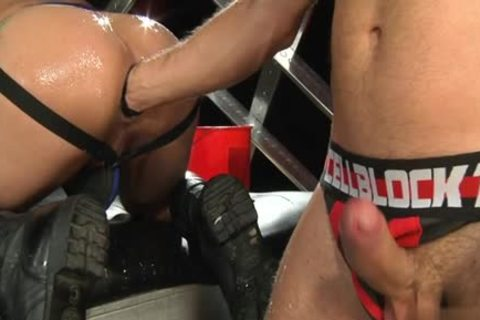 juicy jock Fetish With ball batter flow