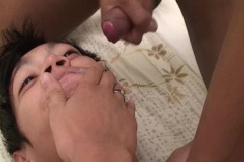 asian Uncut wang Facial two