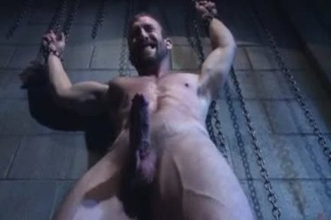 Muscle homo fastened And Facial