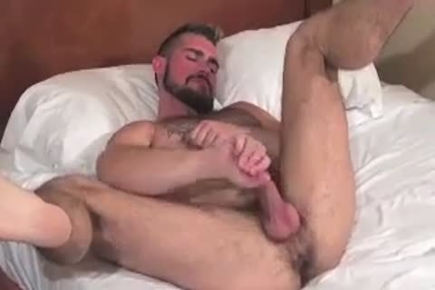 humongous Bear Daddy Breeds taut booty fuck taut hole In Some wonderful Barebacking Session
