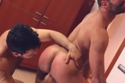 Muscle homosexual spanking And Facial