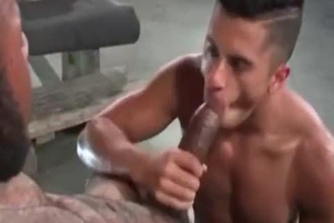 A Very naughty Latino gay dude Likes Some coarse Greek From A monstrous African Shaft