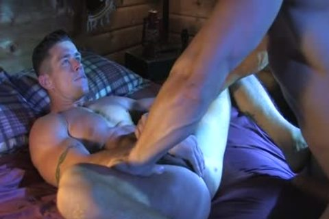 Muscle cock oral pleasure With semen flow