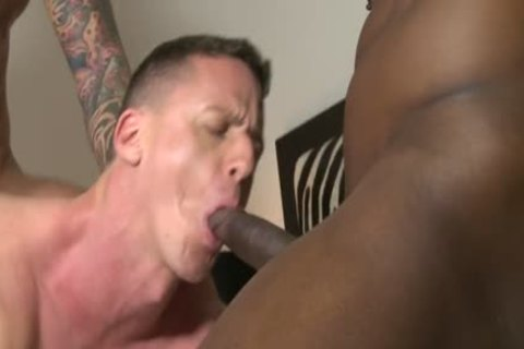 Muscle bald three-some With cream flow - BoyFriendTVcom