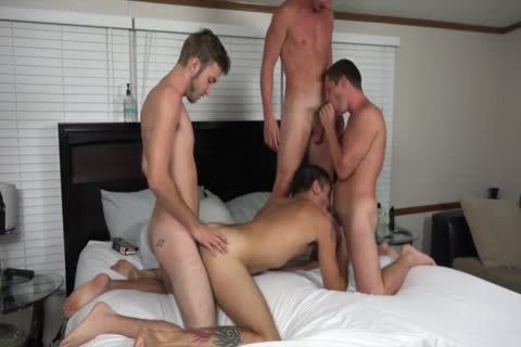 A couple AND TWO allies drilling ON webcam