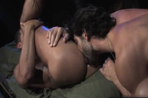 gigantic dong Military butt With cumshot