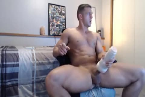 lusty Fit nail Gives His Fleshlight A worthwhile plowing
