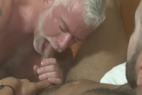 slutty Silver Daddy Jake Marshall And young stud Rikk slam On Vacation