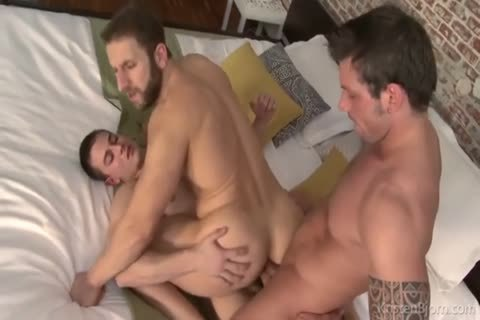 The superlatively naughty Of homosexual double penetration - ass DP Part 4