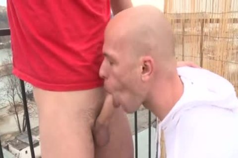 large 10-Pounder Daddy Public Sex With Facial