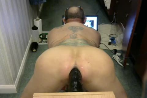 man Pussie Play monstrous long dildo,Egg Plant Some Vacuum Pumping