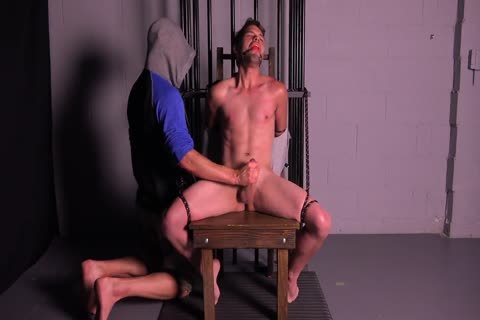 Straight Muscle man Tortured & Edged