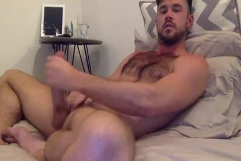 Mike De Marco Jerks Off For cam