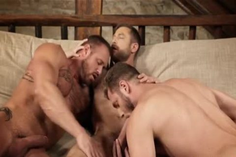 pumped up three-some unprotected And Creampie