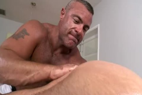 Trace Massages And fucks one more Dilf