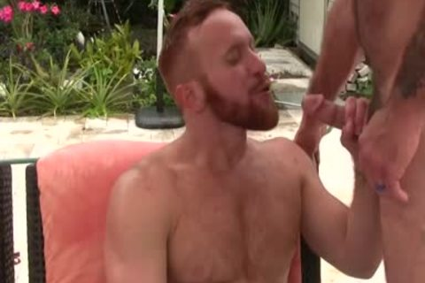 lustful bushy dad fucks Ginger Sun - sperm sperm sperm