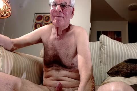grand-dad wank On cam