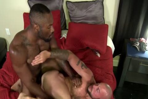 large dong homosexual painfully pooper job And sex cream flow
