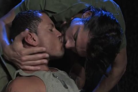 large cock Military ass With cumshot