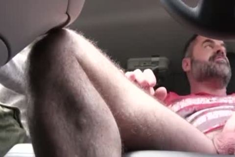 nasty daddy hammers His Step Son In A Car - FAMI
