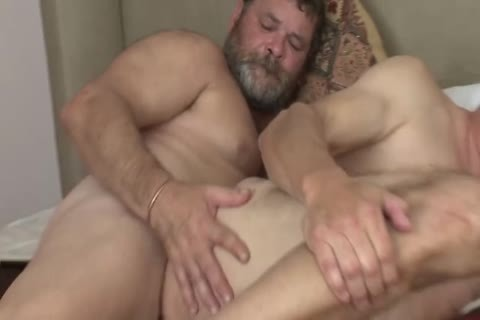 plowing An old daddy unprotected