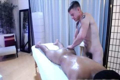 Military males Jax & Enzo Massage