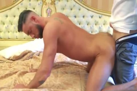 Muscle homosexual Flip Flop And cumshot