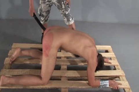Humiliating torment spanking two