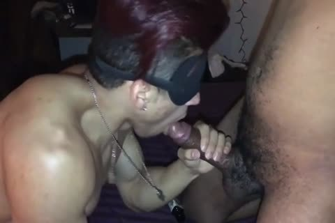 raw bunch-sex Blindfolded
